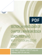 Pp04_ Asep_ Nscp 2015 Update on Ch2 Section 207 Wiind Loads