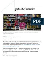 What Are the 21st-Century Skills Every Student Needs