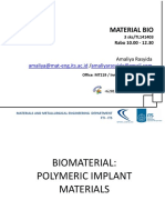 #4 Polymer as Biomaterial