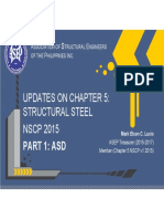 Pp08_ Asep_ Nscp 2015 Update on Ch5 Structural Steel Part 1 Asd
