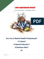 Stress Management a Peek Final