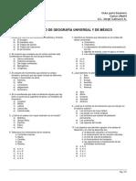 Guía UNAM 6 - Geografia