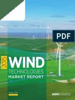2015 Wind Technologies Market Report 08162016