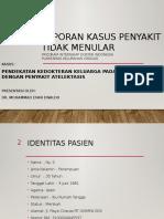 Presentasi Kasus Ptm - Atelektasis