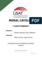 Cuestionario Moral Católica - PercyMC