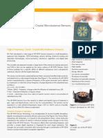HF-QCM Sensors - Technical Datasheet