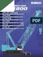 Service Crane Kobelco (CKE1800-1F)