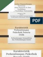 Karakteristik Perkembangan Psikofisik Peserta Didik, Perkembangan Kemandirian Dan Kemandirian Karier