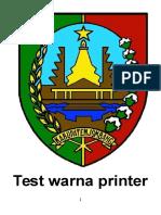 Test Warna Printer