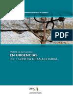 Pautas de Actuacion en Urgencias en El Centro de Salud Rural