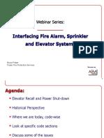 AFAA Webinar - 1-27-2012 - FA & Elevators