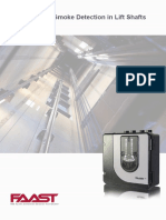 Aspirating Smoke Detection Monitoring in Lift Shafts