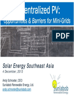 Solar PV Opportunities in SEA