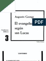 03 - Augustin George - El evangelio segun san Lucas (Cuadernos Bíblicos 003).pdf