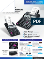HR Printing Calculators