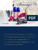 SeneGence Beauty Book Catalogue
