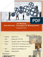 1st Meeting - Introduction