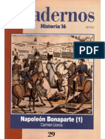 Cuadernos Historia 16, Nº 029 - Napoleón Bonaparte (I)