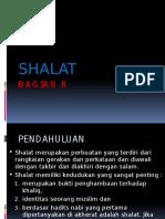 BAGIAN 6 SHALAT