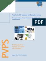Rep9 12 PVPS Pico Solar PV Systems Apr13