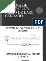 Sistema de Control de Flujo de Lazo Cerrado