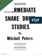 Intermediate Snare Drum Studies - Mitchell Peters