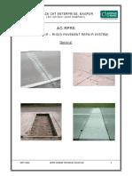 AC-RPRS _Rigid Pavement Repair System