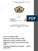 Powerpoint Analisis APBD Dr. Fitri S