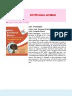 4. Rotational Motion