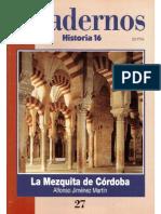 Cuadernos Historia 16, Nº 027 - La Mezquita de Córdoba