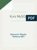 Mysql Tworzenie Stron Internetowych