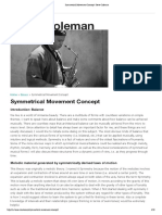 Symmetrical Movement Concept _ Steve Coleman