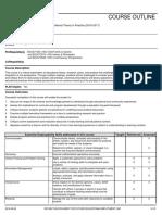 ret course outline