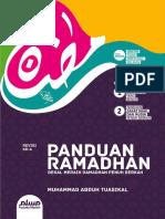 Cover Panduan Ramadhan 1436