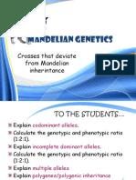 Deviation From Mendelian Genetic 1