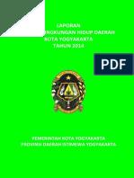 Buku Laporan SLHD Kota Yogyakarta 2014