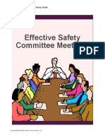8. Effective Safety Committe Meetings