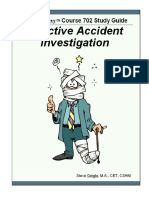 3. Effective Accident Investigation