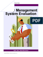 17. Safety Management System Evaluation