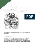 CERVANTES, Don Quijote y El Islam Luce Lopez Baralt