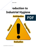 25. Introduction to Industrial Hygiene