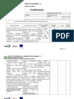 Planificação UFCD3499 Patrimonio Cultural