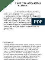 Description Des Types d'Inegalités Au Maroc