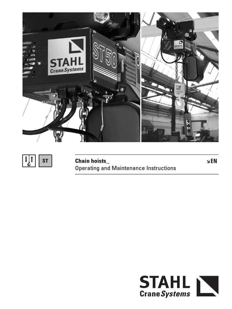 Stahl Crane Wire Diagram Electrical Wiring Diagrams Chain Hoist Block And Schematic U2022