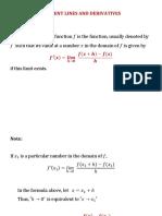 TangentLines Derivatives