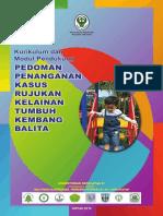 Kurmod Pedoman Penanganan Kasus Rujukan Kelainan Tumbuh Kembang Balita 2014