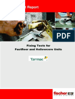 2009 09 16 Tarmac Topfloor Report