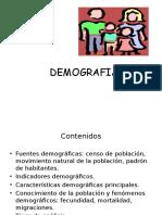 Demografía y Salud Pública