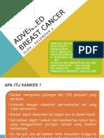 Advance Breast Cancer by Kel_3 Kls_A