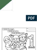 Poster Mewarna KM1M & Gambar Mewarna Bulan PSS NILAM 1